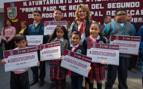 Más de 17 mil niños con la certeza de que se mantendrán en la escuela, en Atizapán