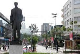 La avenida Presidente Masarik, para ir de compras, si tienes suficiente dinero