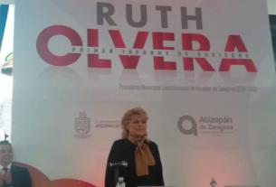 Ruth Olvera Nieto rinde su Primer Informe de Gobierno como presidenta municipal de Atizapán