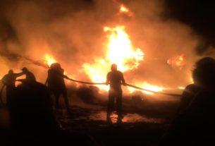 Incendio en Rincón Verde, Naucalpan