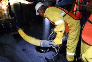 Inicia limpieza de infraestructura hidráulica en Naucalpan para evitar inundaciones