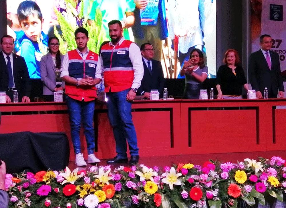 La Cruz Roja entre las organizaciones civiles reconocidas en Naucalpan