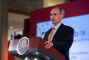El subsecretario de Salud, Hugo López, confirma el caso en la Ciudad de México