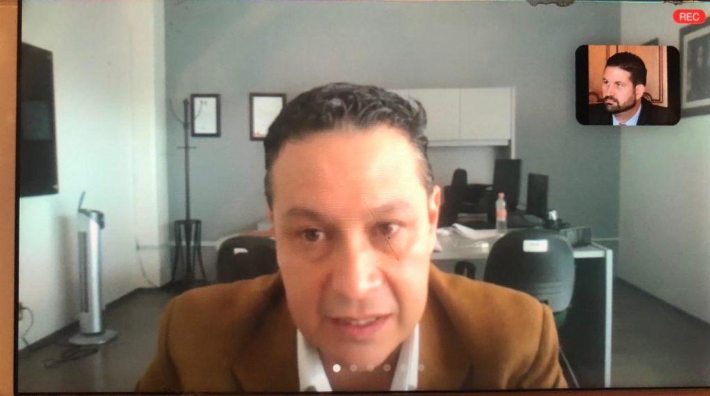 Director General INVEAMEX, Luis Miguel Sánchez López,