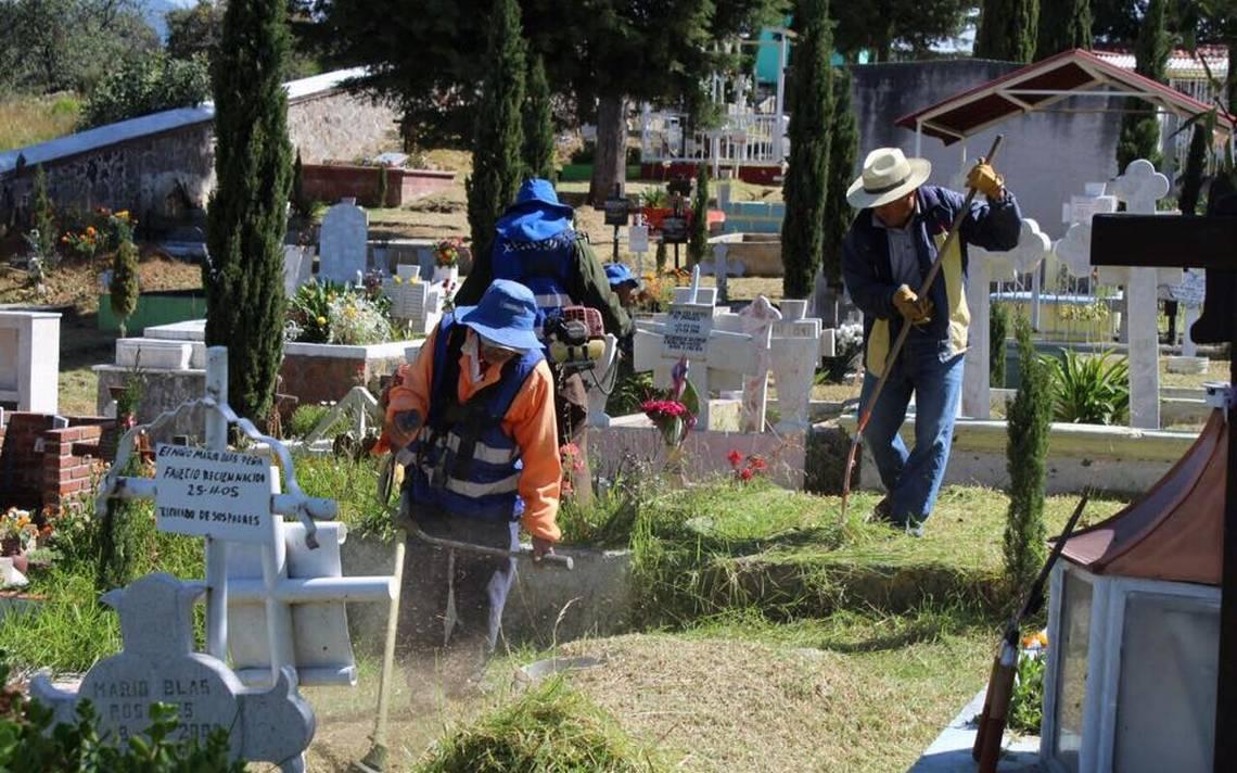 Cerrarán los panteones en Naucalpan, aunque no para inhumaciones, solo para visitas