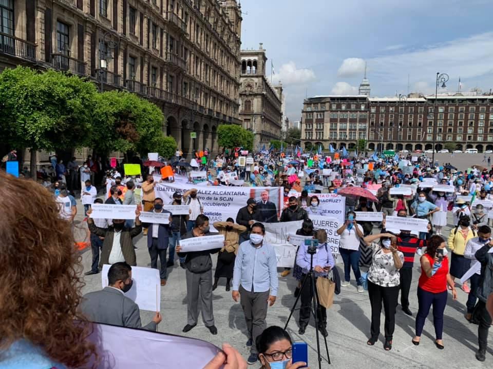 Movimientos por la vida de todo el país se manifestaron contra el aborto ante la SCJN