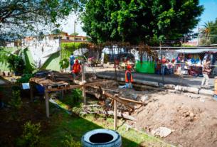 Reparan escuelas en Coacalco