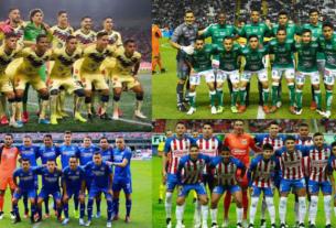 Equipos de la Liga Guard1anes