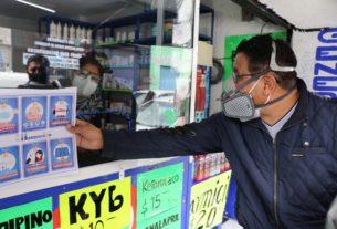 Personal de la Dirección de Gobierno de Huixquilucan revisa que se cumplan medidas sanitarias