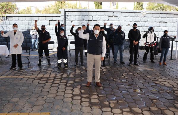 Funcionarios de Huixquilucan fueron reconocidos porque enfrentaron la pandemia con aciertos desde el principio