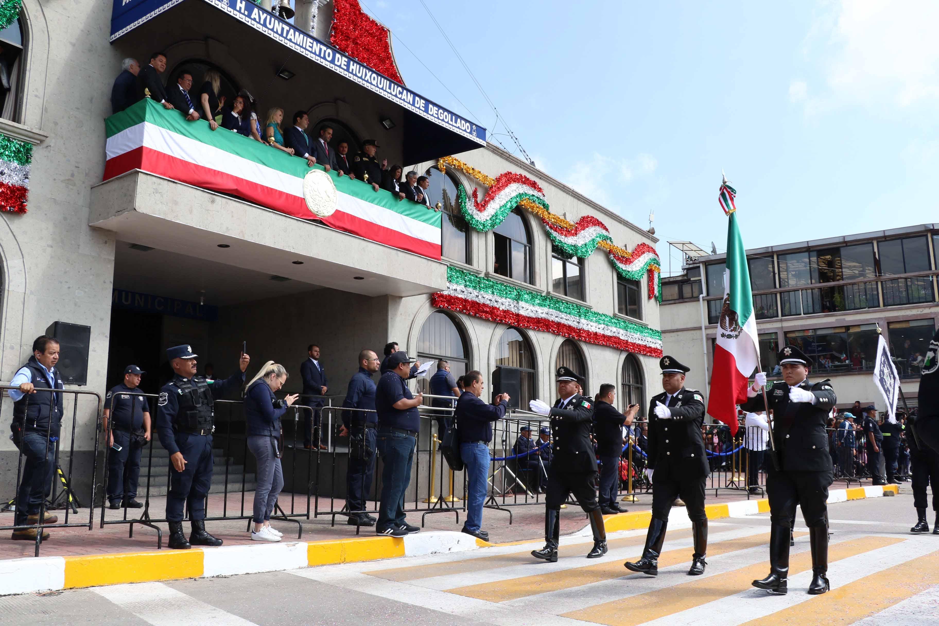 Ni Grito, ni Desfiles en 16 de Septiembre en Huixquilucan