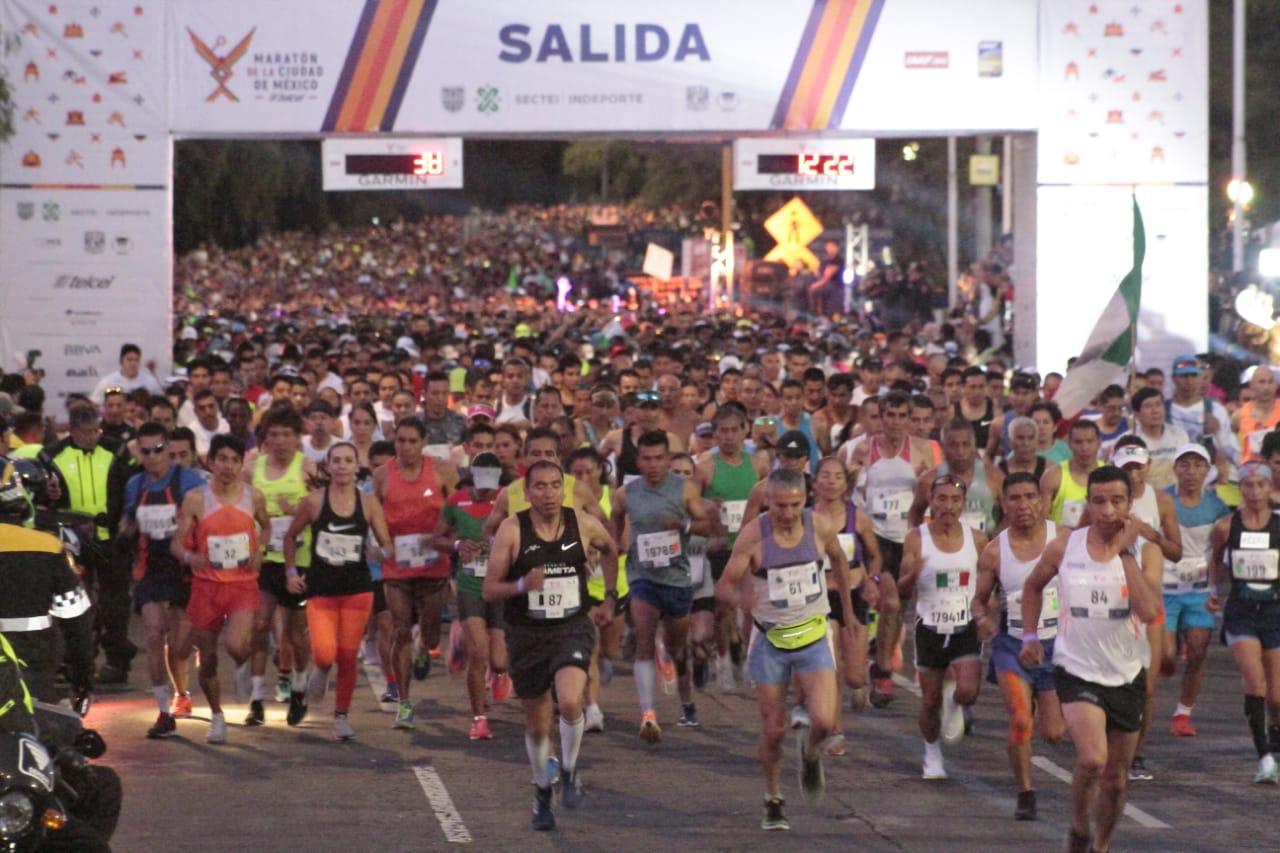 Suspendido el Maratón de la Ciudad de México
