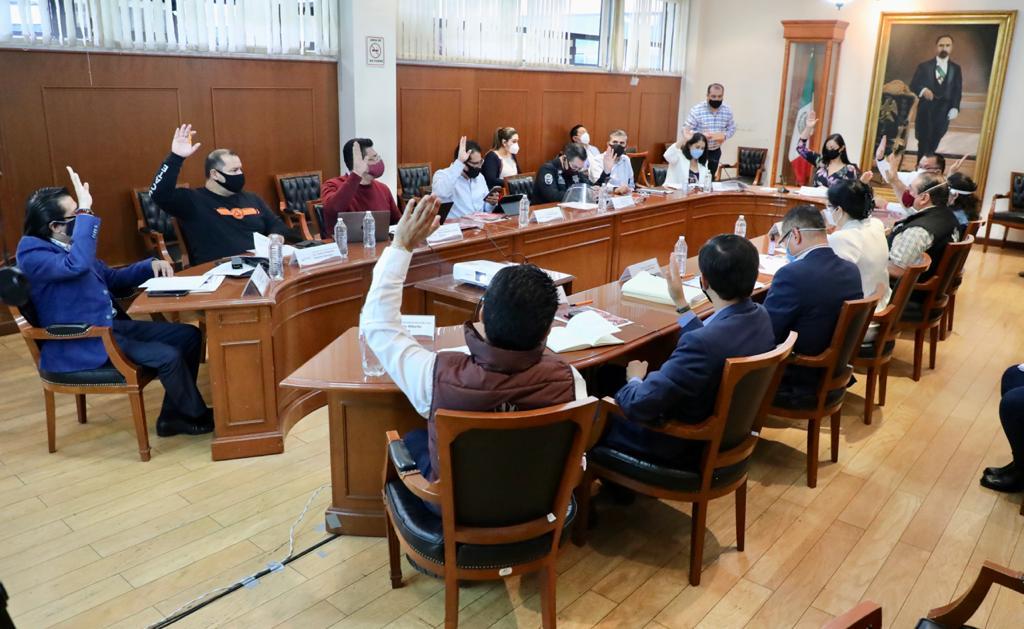 Sesión del Consejo Municipal de Emergencia para la Atención del COVID-19 (Coronavirus)