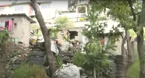 La zona en que aparecieron las cinco mujeres asesinadas a balazos