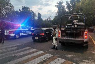 Refuerzan seguridad en Ciudad Satélite
