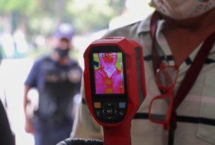 Toma de temperatura, citas por internet, sanitización de parques y demás demuestran que Tlalnepantla está listo para Semáforo Naranja