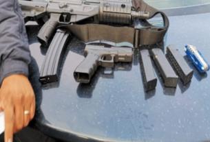 Armas de grueso calibre y cargadores y cartuchos en Tlalnepantla