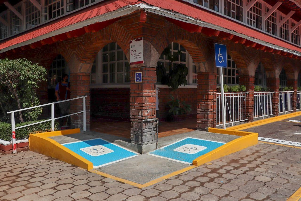 Áreas del DIF de Tlalnepantla y el Palacio Municipal con accesos más fáciles para personas con discapacidad