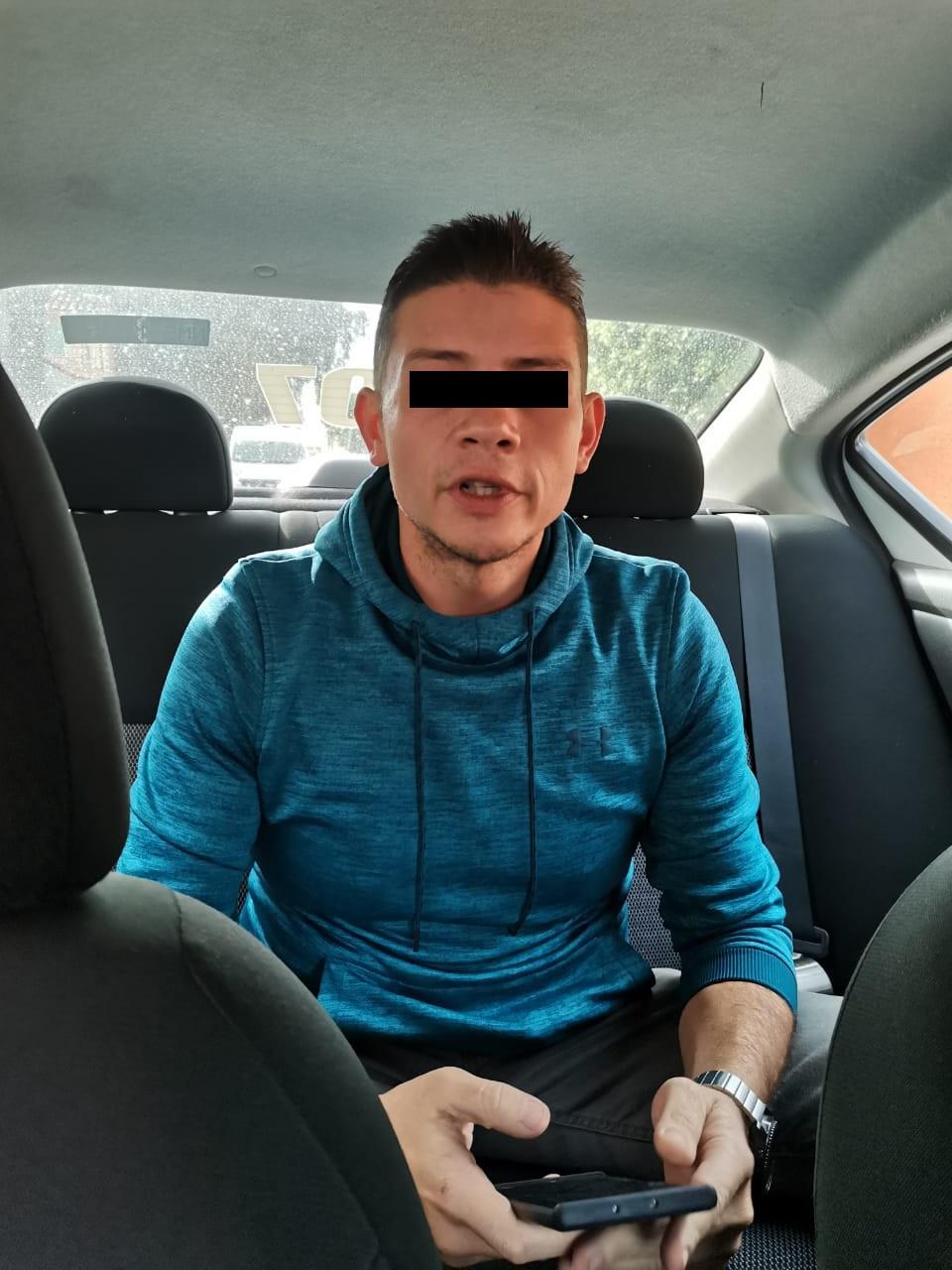 Presunto golpeador de esposa en Tlalnepantla