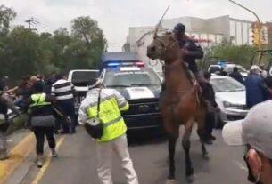 Policía arremete contra ciudadanos en Cuautitlán Izcalli