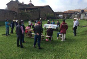 Convivencia de trabajo en comunidad de Almoloya de Juárez
