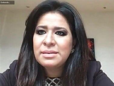 Presidenta del CCEM, Laura González Hernández