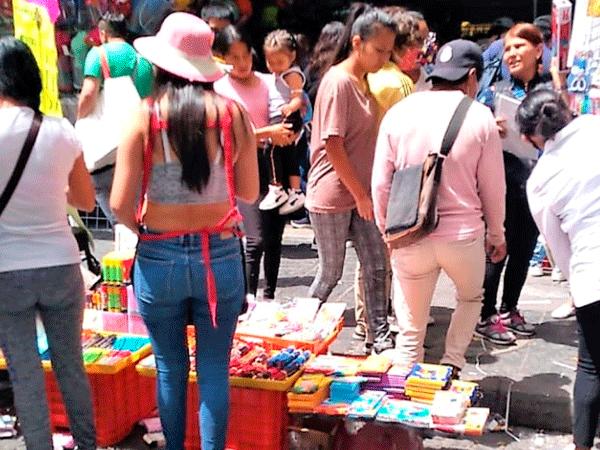 Comercio ambulante, competencia desleal