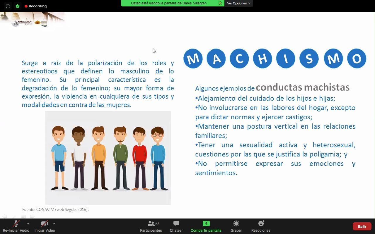 Mujeres conviven sin violencia en Naucalpan