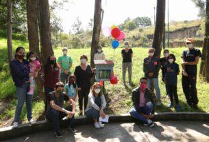 Proyecto familiar la biblioteca libre en Lomas Verdes, Naucalpan