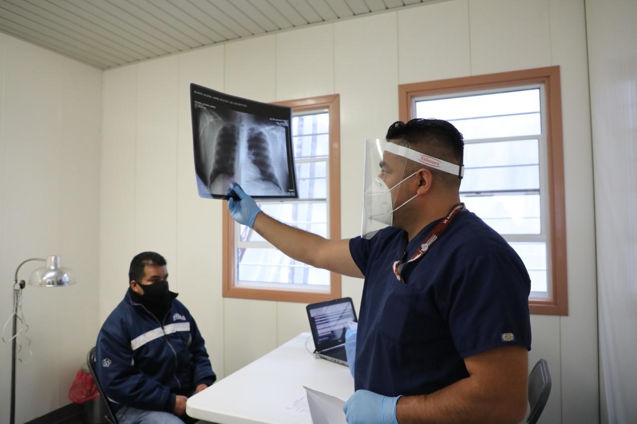 En Módulo COVID detectar enfermos para remitirlos a hospital del ISEM