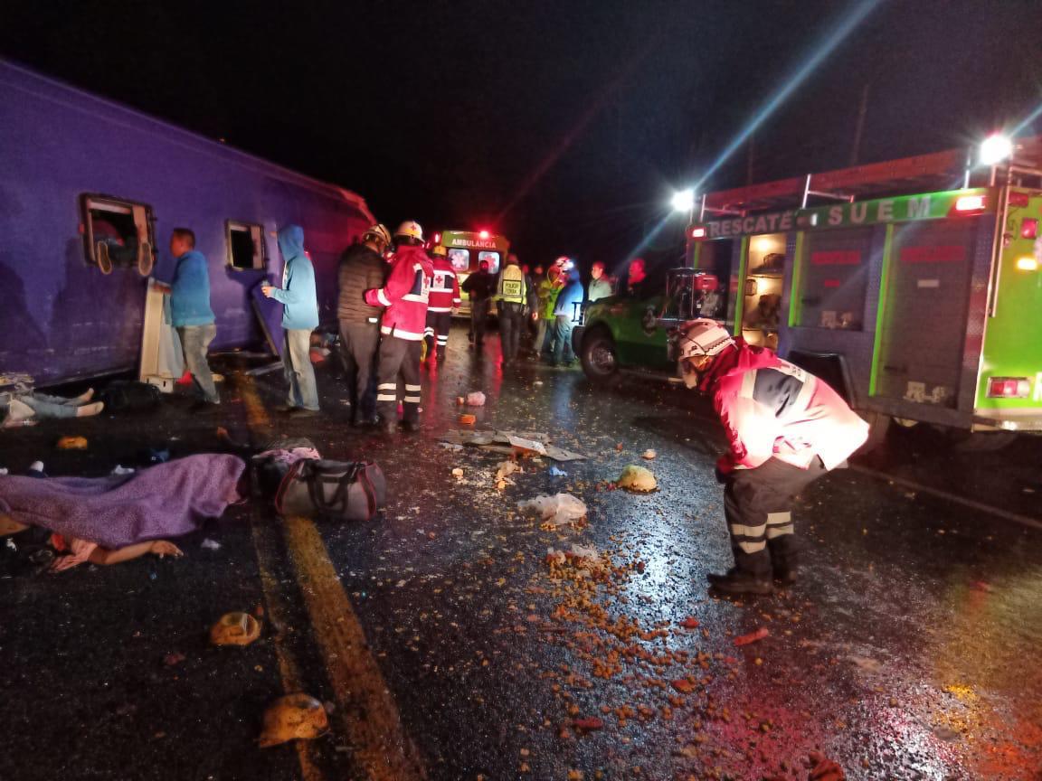 Personas de todas la edades perdieron la vida en el accidente