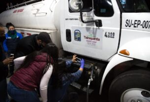Checan que no roben gasolina en Tlalnepantla