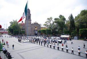 Personal médico, de Protección Civil y Seguridad de Tlalnepantla reciben homenaje