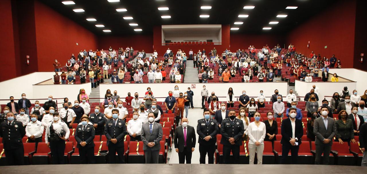 Ciudadanos, funcionarios y policías integran redes sociales en Tlalnepantla