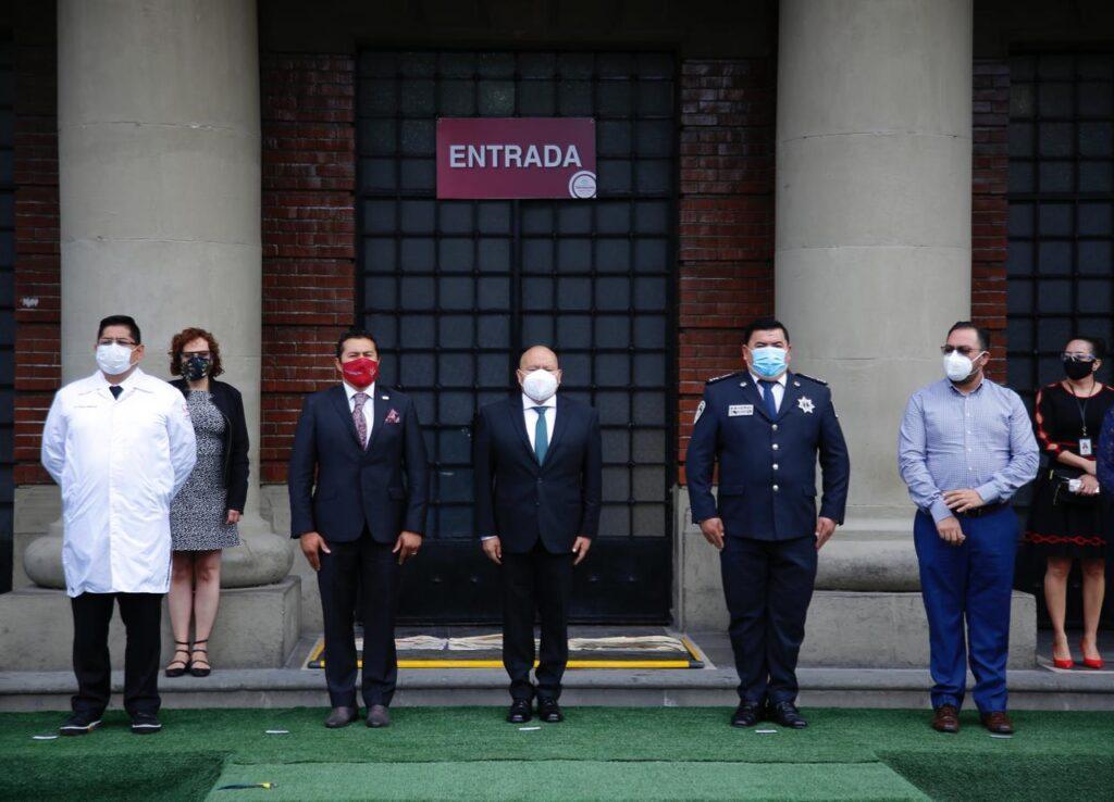 El alcalde Raciel Pérez Cruz encabeza reconocimiento a funcionarios de primera línea que atienden afectados por COVID-19