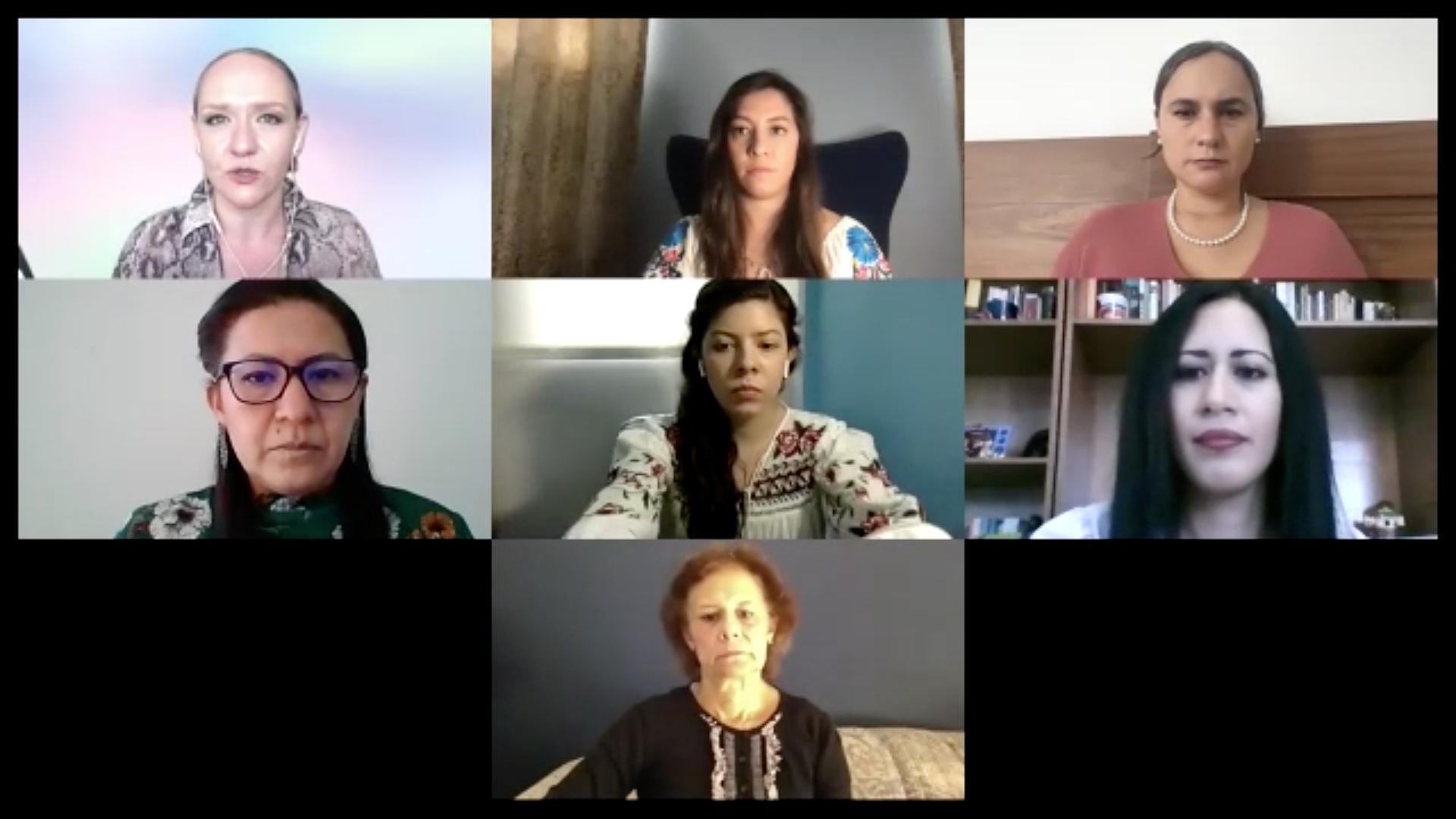 Mujeres se manifiestan contra el extremismo de las proabortistas