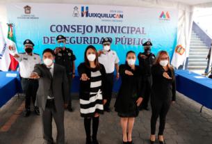 La Comisión de Honor rinde protesta para proceder contra malos elementos en Huixquilucan