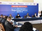 Reunión del Consejo Intermunicipal de Seguridad Pública región IX en Huixquilucan