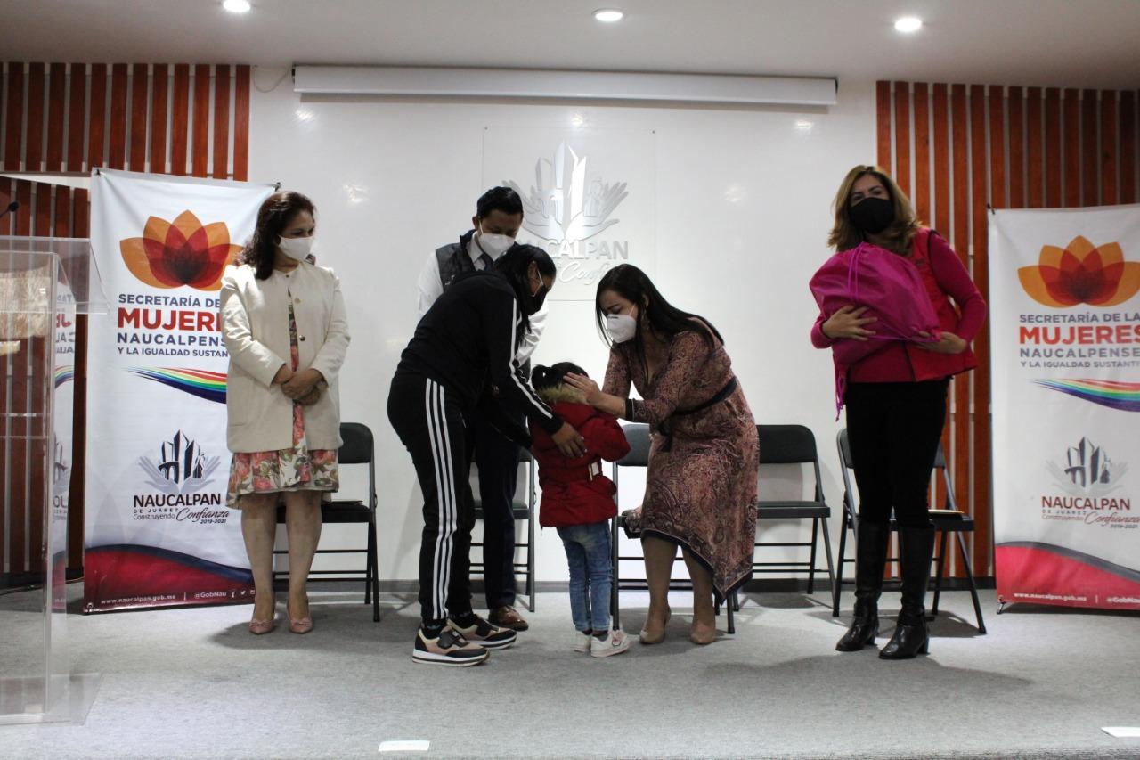 Mujeres de Naucalpan reciben apoyo de la ONU