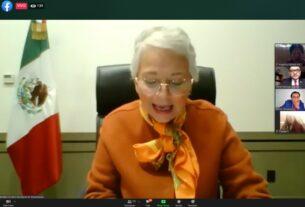 La titular de SEGOB, Olga Sánchez Cordero preside foro de alcaldes