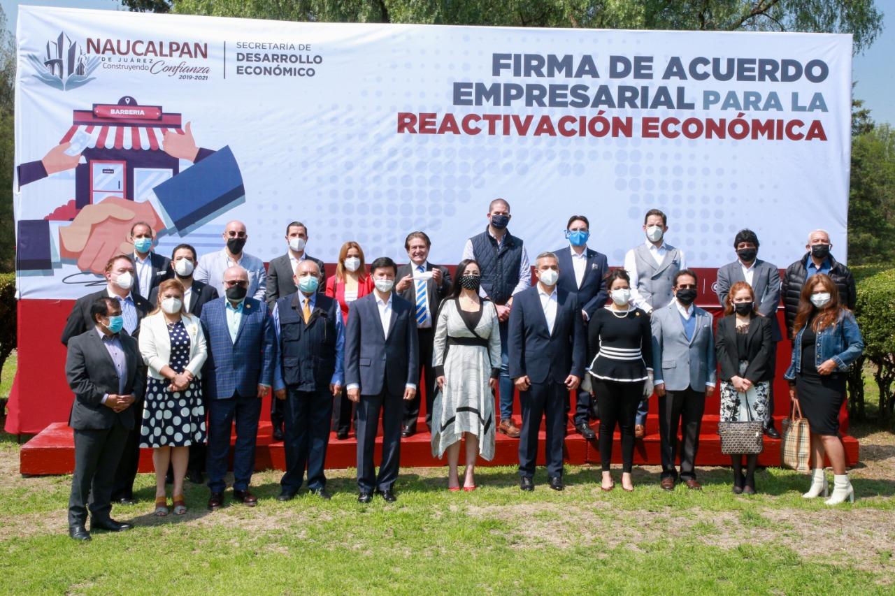La alcaldesa Patricia Durán Reveles acuerda con empresarios