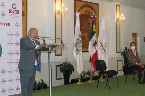 Raciel Pérez Cruz, alcalde de Tlalnepantla, anuncia APP para reportar fugas de agua