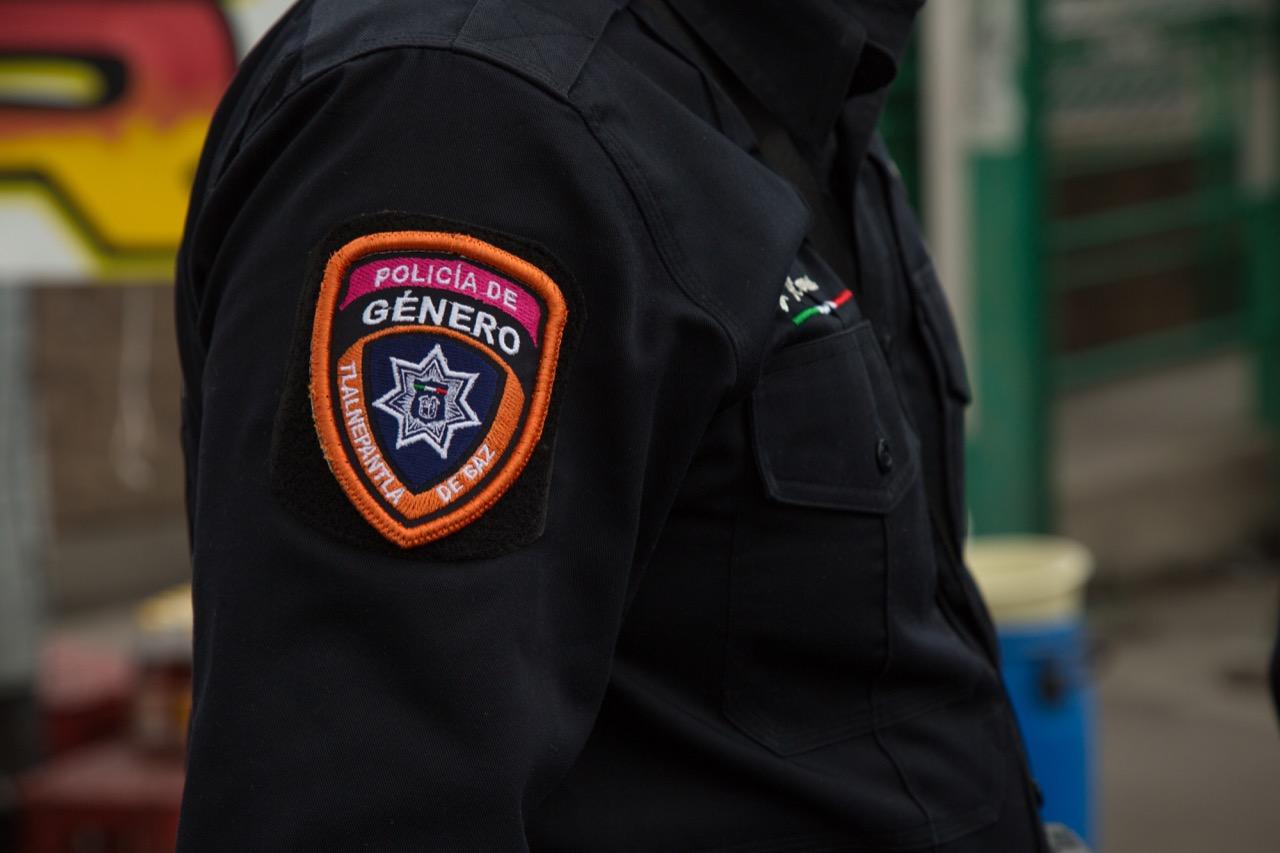 Policía de Género de Tlalnepantla apoya contra violenci