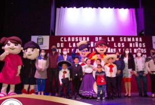 Termina semana Ya es hora de las niñas y los niños en Tlalnepantla