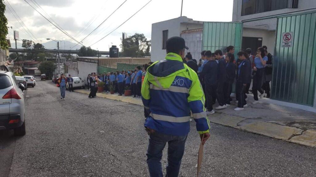 En escuelas una gran labor preventiva ante sismos