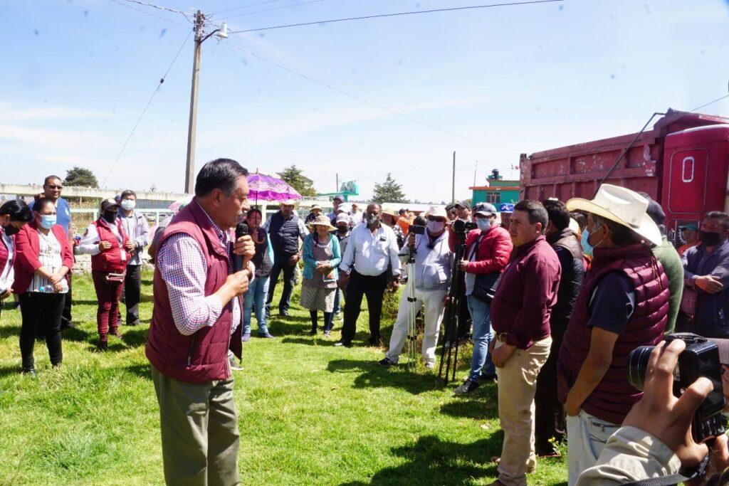 Luis Maya Doro, asegura que todas las comunidades están contempladas para el programa de obras ar