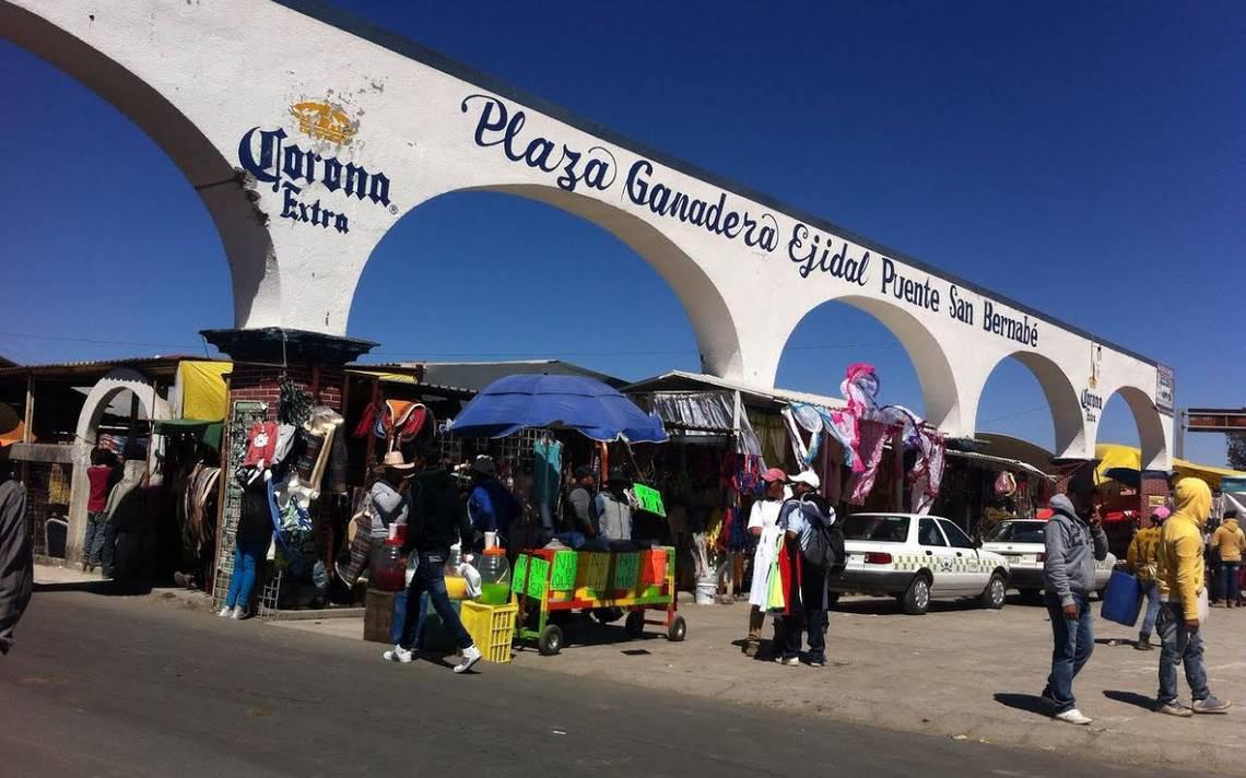 las actividades de las plazas ganaderas de Puente de San Bernabé y Cieneguillas de Guadalupe, y el tianguis dominical de la cabecera municipal,