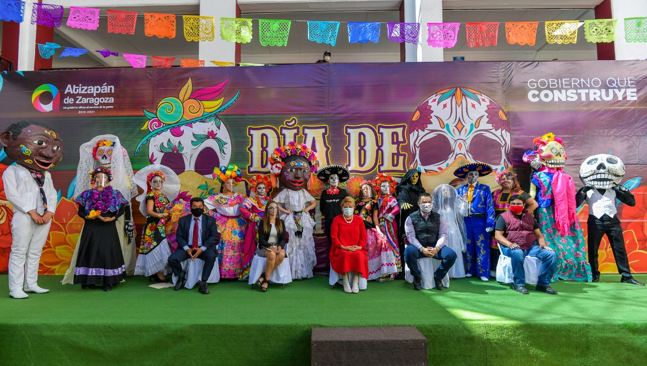Festival de Muertos, en Atizapán
