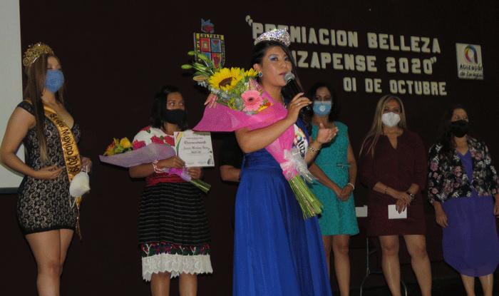 La ganadora del concurso Belleza Atizapense 2020