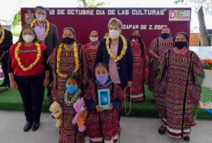 Ruth Olvera establece vínculos con las culturas originales